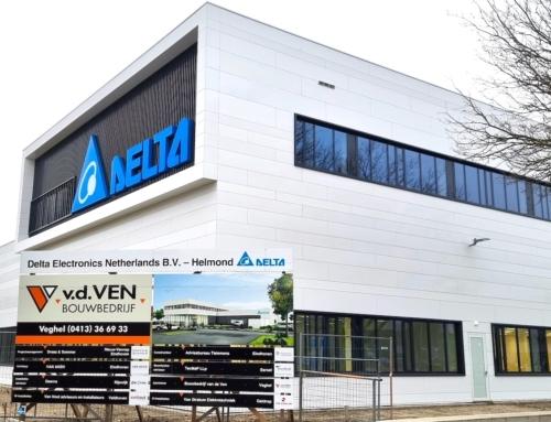 Nieuw bedrijfspand Delta Electronics