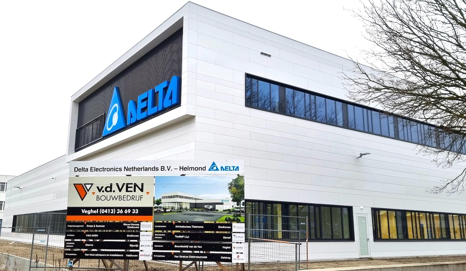 Delta Electronics Bedrijfspand