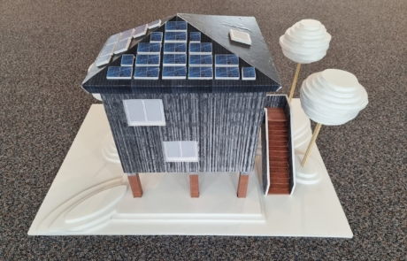 Maquette Tiny House woning