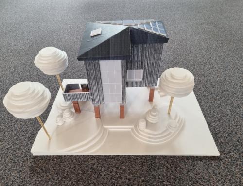 HvA student ontwerpt Tiny House