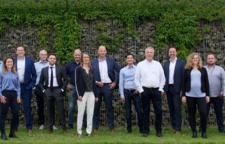 4Building Team Groepsfoto 2021 Nieuw Vennep